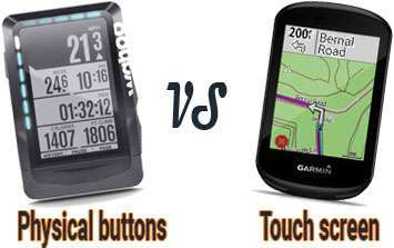 physical buttons vs touch screen